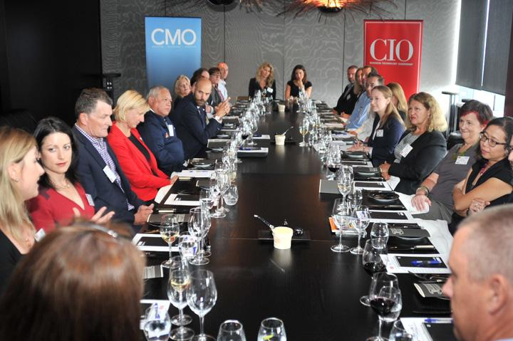 In pictures: How IT and marketing can deliver modern business agility roundtable