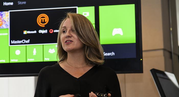 Microsoft retail industry market development manager, Marcy Larsen