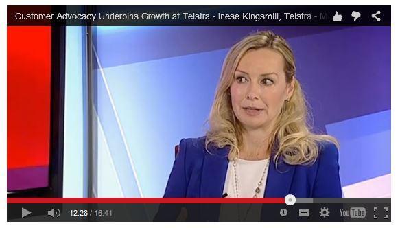 Inese Kingsmill, Telstra