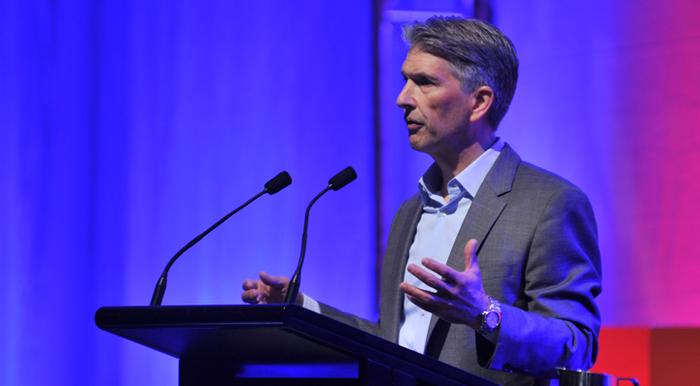 Forbes chief insights officer, Bruce Rogers, at the ADMA Global Forum 2014