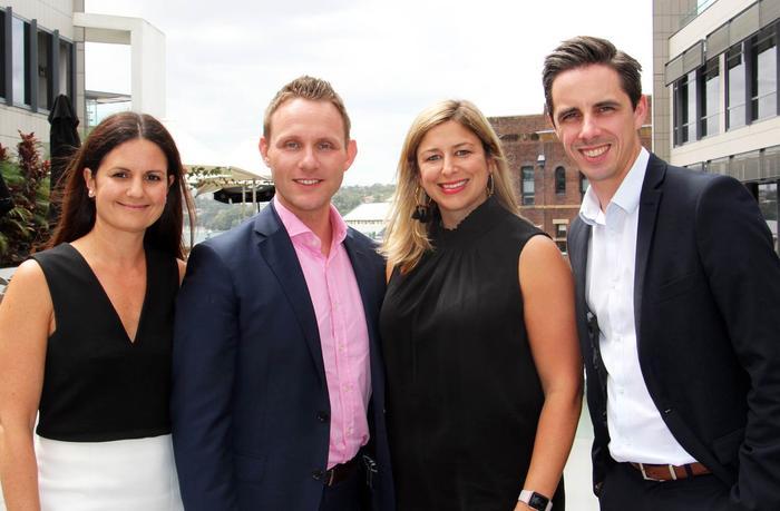 From left to right: Carat's new CMO Adriana Colaneri, CIO Ashley Earnshaw, CDO Sarah James and CSO Sam Hegg