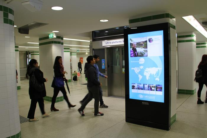 Adshel launches helloworld's first connected social and digital OOH experience