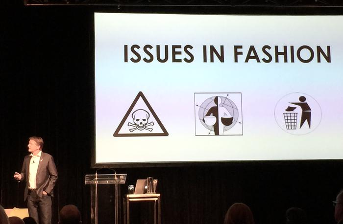 MUD Jeans CEO and founder, Bert van Son discussing why his company wants to break the toxic cycles in fast fashion