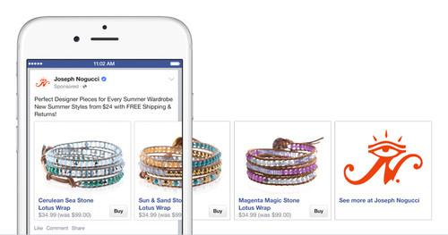 A wider group of merchants who use Shopify's service can now sell their items directly in Facebook's News Feed.