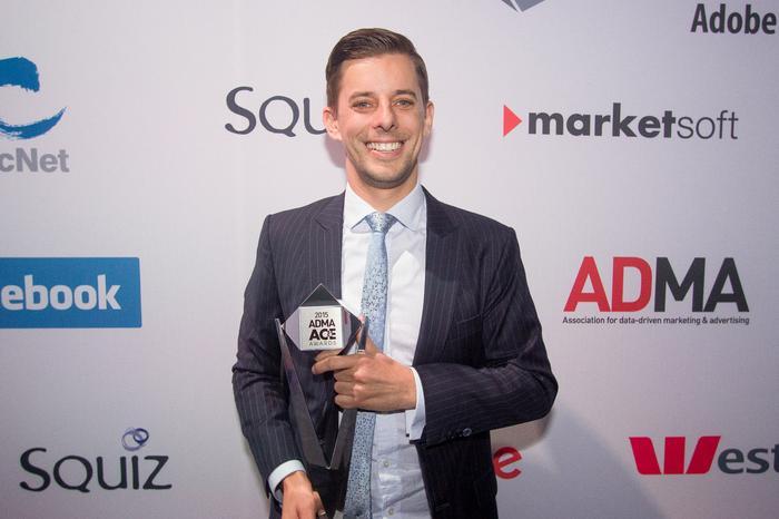 Aldi marketing director, Sam Viney