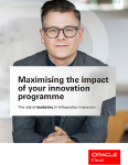 Maximising the impact of your innovation programme