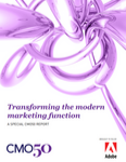 Transforming the modern marketing function