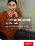 Trusting marketing with data